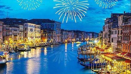 SILVESTR v Benátkách! 3 denní zájezd s dopravou a průvodcem.