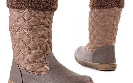 Stylová dámská zimní obuv, velikost 36-40