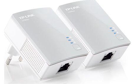 Síťový rozvod LAN po 230V TP-Link TL-PA4010 KIT (TL-PA4010KIT) bílý