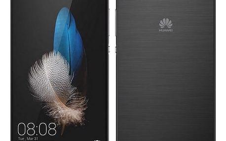 Mobilní telefon Huawei P8 Lite DS (SP-P8LITEDSBOM) černý + DOPRAVA ZDARMA