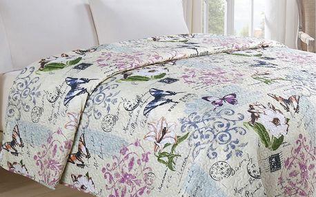 Jahu Přehoz na postel Motýl, 140 x 220 cm, 140 x 220 cm