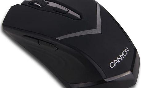 Myš Canyon CNE-CMSW3 (CNE-CMSW3) černá / optická / 6 tlačítek / 800dpi