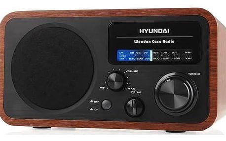 Radiopřijímač Hyundai PR 309 W dřevo