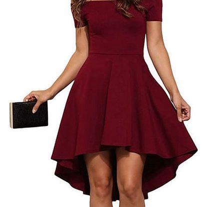 Šaty pro dámy s holými rameny - 3 barvy