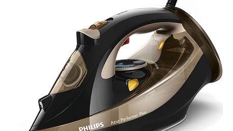 Žehlička Philips Azur Performer Plus GC4527/00 černá/zlatá + DOPRAVA ZDARMA