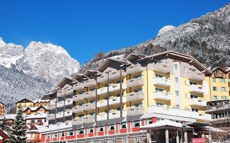 Itálie, Dolomiti Adamello Brenta, vlastní dopravou na 4 dny polopenze