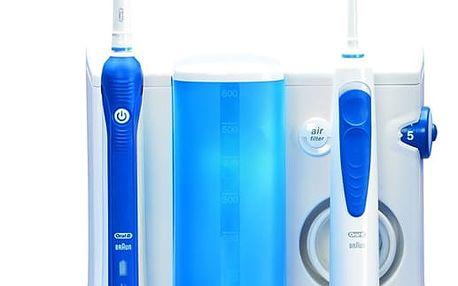 Orální centrum Oral-B Oral-B® ProfessionalCare™ Oxyjet+3000OC20 bílý/modrý + DOPRAVA ZDARMA