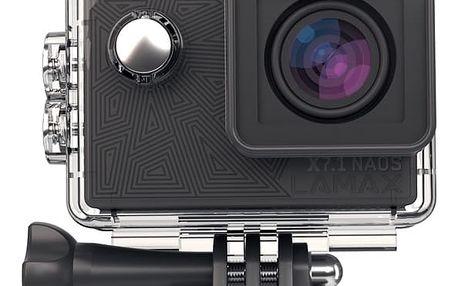 Outdoorová kamera Lamax X7.1 Naos + dárek, černá
