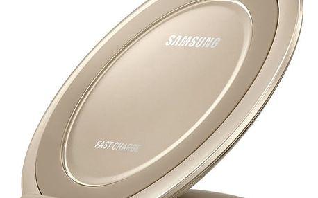 Nabíjecí stojánek Samsung EP-NG930 pro Galaxy S7 / S7 Edge (EP-NG930BFEGWW) zlatý