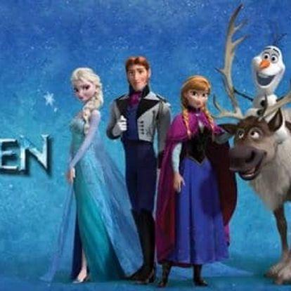Dětská zimní sada Frozen nebo Spiderman