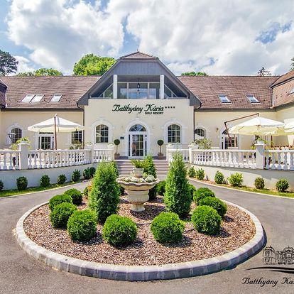 Relax v 4* hotelu poblíž jezera Hévíz + polopenze, neomezené wellness a celodenní vstup do lázní