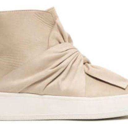 Dámské béžové kotníkové boty Paola 8218