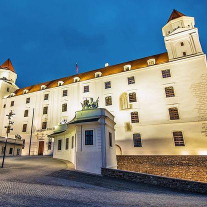 Bratislava v prvním slovenském 4* boutique hotelu se snídaní/polopenzí + dítě zdarma