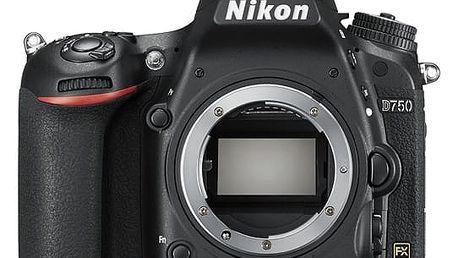 Digitální fotoaparát Nikon D750 tělo černý + DOPRAVA ZDARMA