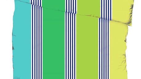 Jahu Krepové povlečení Bruno Azuro, 140 x 200 cm, 70 x 90 cm