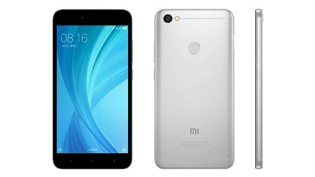 Xiaomi RedMi Note 5A Prime - 32GB, šedá - PH3624