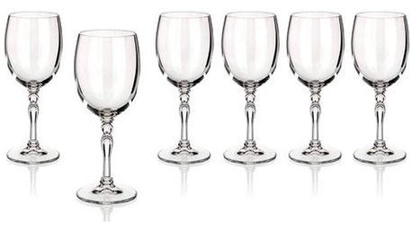 Banquet CRYSTAL Lucille sklenice na bílé víno 6 ks