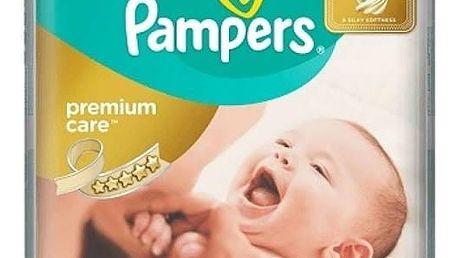 Plenky Pampers Premium Care 1 NEWBORN + Premium Care 2 MINI 168ks + Doprava zdarma