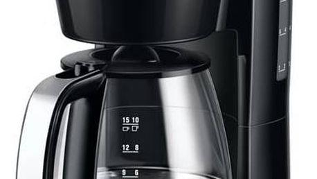 Kávovar Electrolux EKF3240 černý/stříbrný