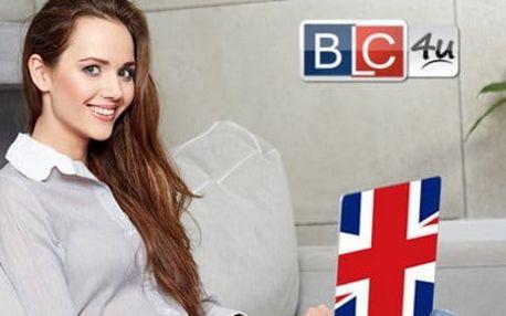Online kurzy Angličtiny. Získajte oficiálny BLC4u certifikát.