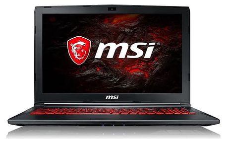 Notebook MSI GL62M 7RDX-1826CZ (GL62M 7RDX-1826CZ) černý + DOPRAVA ZDARMA