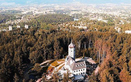 Hotel Liberecká Výšina, Stylové ubytování v romantické rozhledně uprostřed přírody