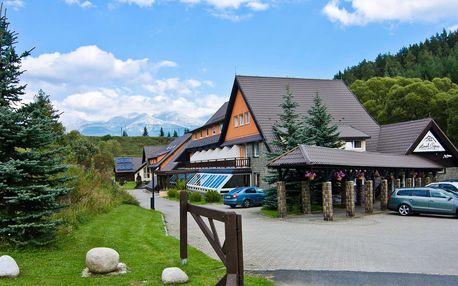 Hotel Sipox*** ve Vysokých Tatrách s polopenzí a wellness