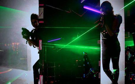 Akční laser game: na výběr 6 herních módů