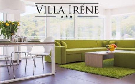 Ubytování v luxusních apartmánech s vlastní terasou ve Ville Irene*** Trenčianske Teplice