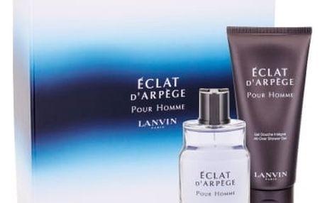 Lanvin Éclat D´Arpege Pour Homme dárková kazeta pro muže toaletní voda 50 ml + sprchový gel 100 ml