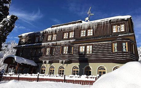Alpský hotel***, Pojeďte do Krkonoš - ubytování jen 5 minut od Svatého Petra!