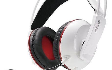 Headset Asus Gaming (90YH0062-B1UA00) bílý + DOPRAVA ZDARMA