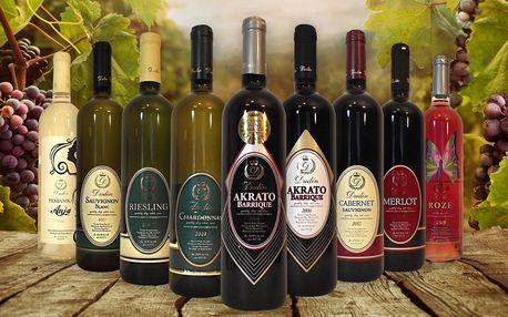 Archivní makedonská vína pro gurmány
