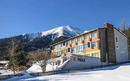 Rakouské Alpy s wellness a polopenzí