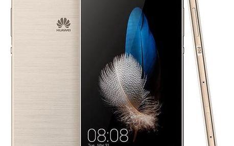 Mobilní telefon Huawei P8 Lite DS (SP-P8LITEDSGOM) zlatý + DOPRAVA ZDARMA