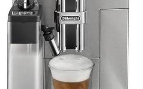 Espresso DeLonghi PrimaDonna S De Luxe ECAM28.465.M stříbrné + Doprava zdarma
