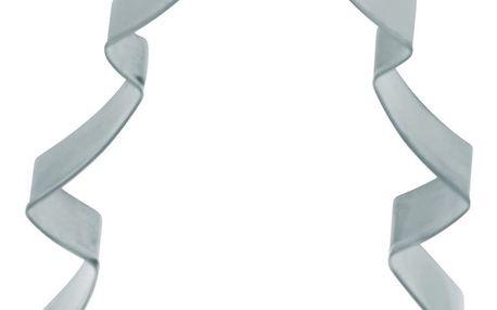 Kitchen Craft Nerez vykrajovátko - vánoční stromeček 13 cm, stříbrná barva, kov