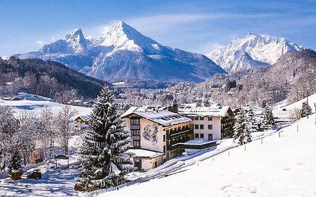 Bavorské Alpy s polopenzí a bazénem