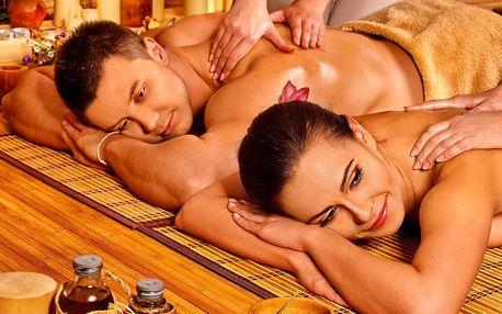 Relax pro vás 2: partnerská masáž při svíčkách
