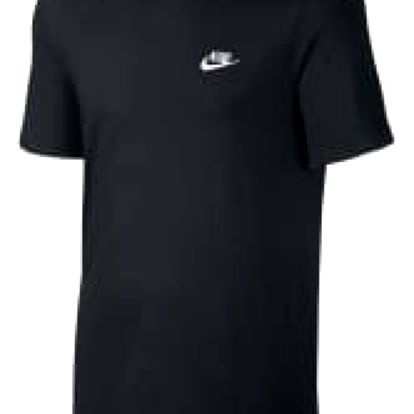 Pánské tričko Nike M NSW TEE CLUB EMBRD FTRA | 827021-011 | Černá | M