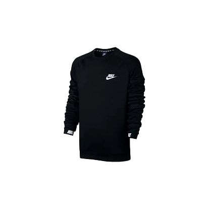 Pánské tričko Nike M NSW AV15 CRW FLC | 861744-010 | Černá | L
