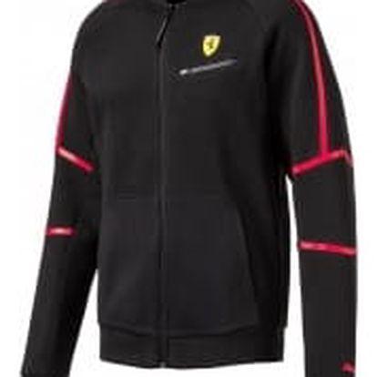 Pánská mikina Puma Ferrari SF Sweat Jacket Cotton Black | 762132-02 | Černá | XL