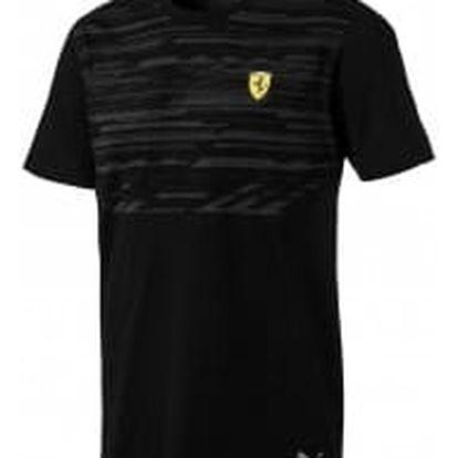 Pánské tričko Puma Ferrari SF Tee Puma Black | 762250-02 | Černá | L
