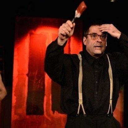 Vstupenka na divadelní představení Červená
