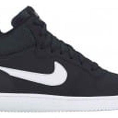 Pánské tenisky Nike COURT BOROUGH MID | 838938-010 | Černá | 42,5
