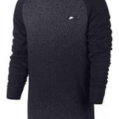 Pánské tričko Nike M NSW MODERN CRW FT FA | 861702-010 | Černá | L