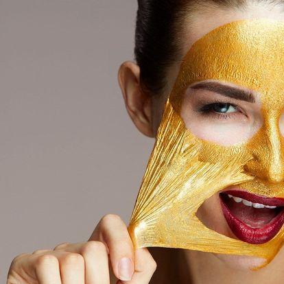 Nechte se rozmazlovat: ošetření se zlatou maskou
