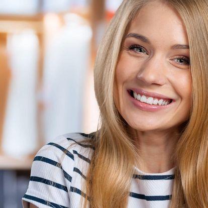 Ordinační bělení zubů + dárek pro domácí péči