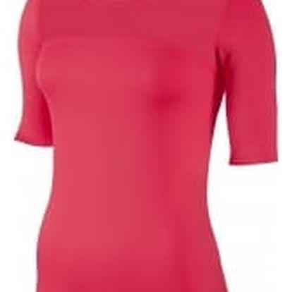 Dámské tričko Nike W NP HPRCL TOP SS | 832054-645 | Červená | S