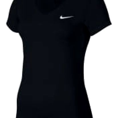 Dámské tričko Nike W NK TOP VCTY BSLYR VNECK | 824399-010 | Černá | L